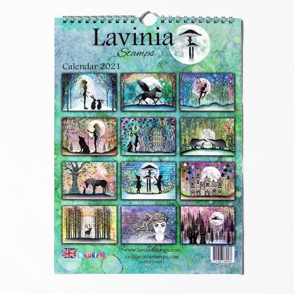 Lavinia Stamps Calendar for 2021