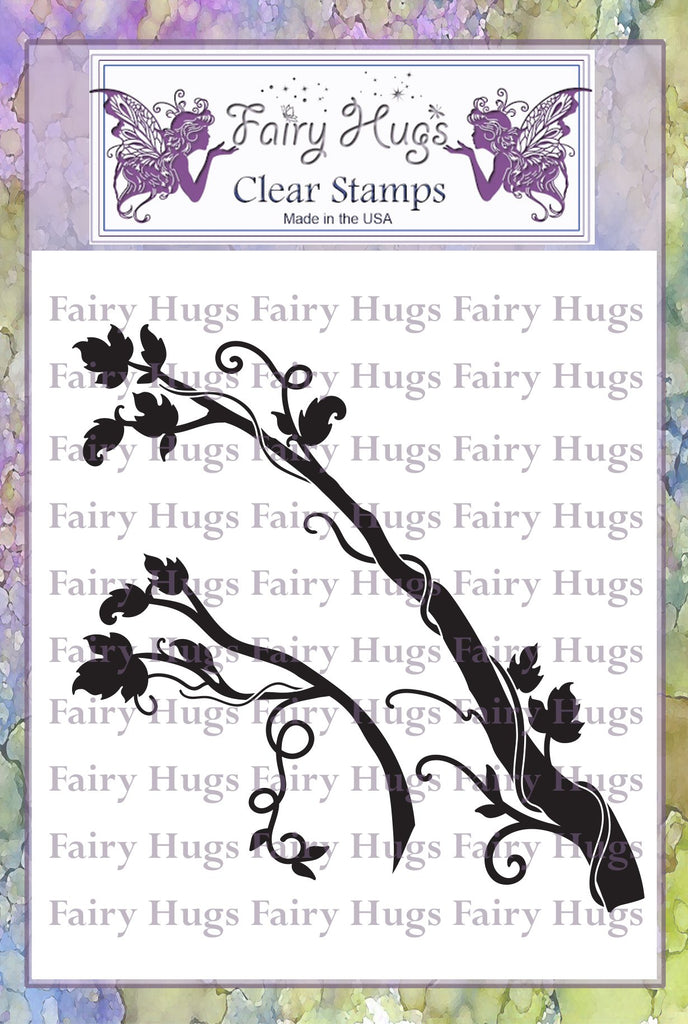 Fairy Hugs Stamps - Fairy Branches - Fairy Stamper