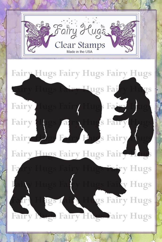 Fairy Hugs Stamps - Beary Family
