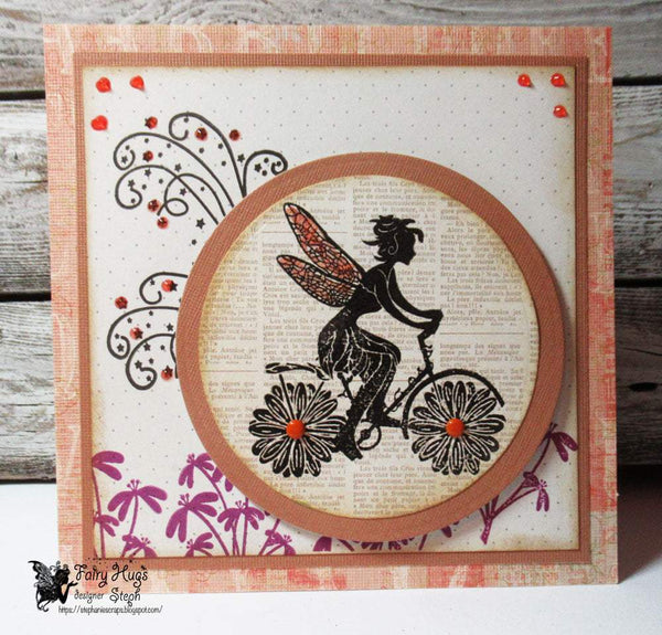 Fairy Hugs Stamps - Fairy Wind