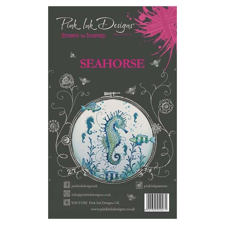 Pink Ink Designs - Stamps - Seahorse - Lavinia World