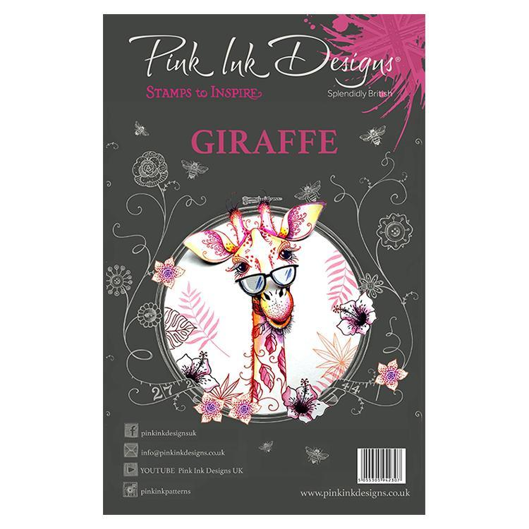 Pink Ink Designs - Stamps - Giraffe - Lavinia World
