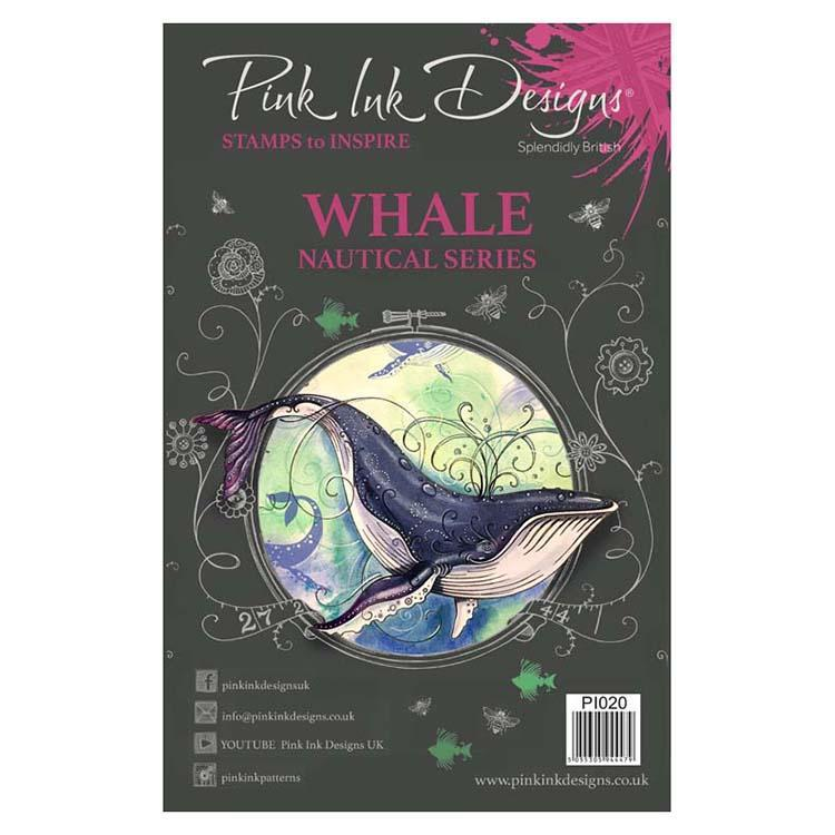 Pink Ink Designs - Stamps - Whale - Lavinia World
