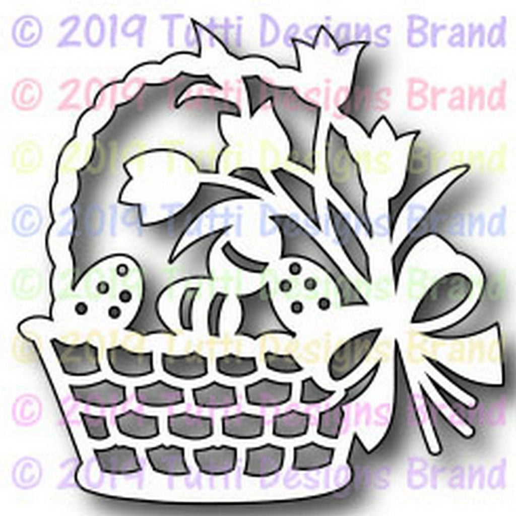 Tutti Designs Dies - Egg Easter Basket - Lavinia World