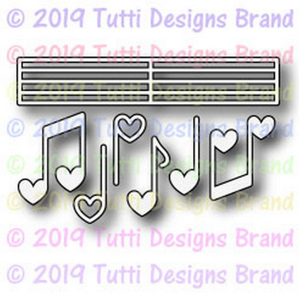 Tutti Designs Dies - Love Notes - Lavinia World
