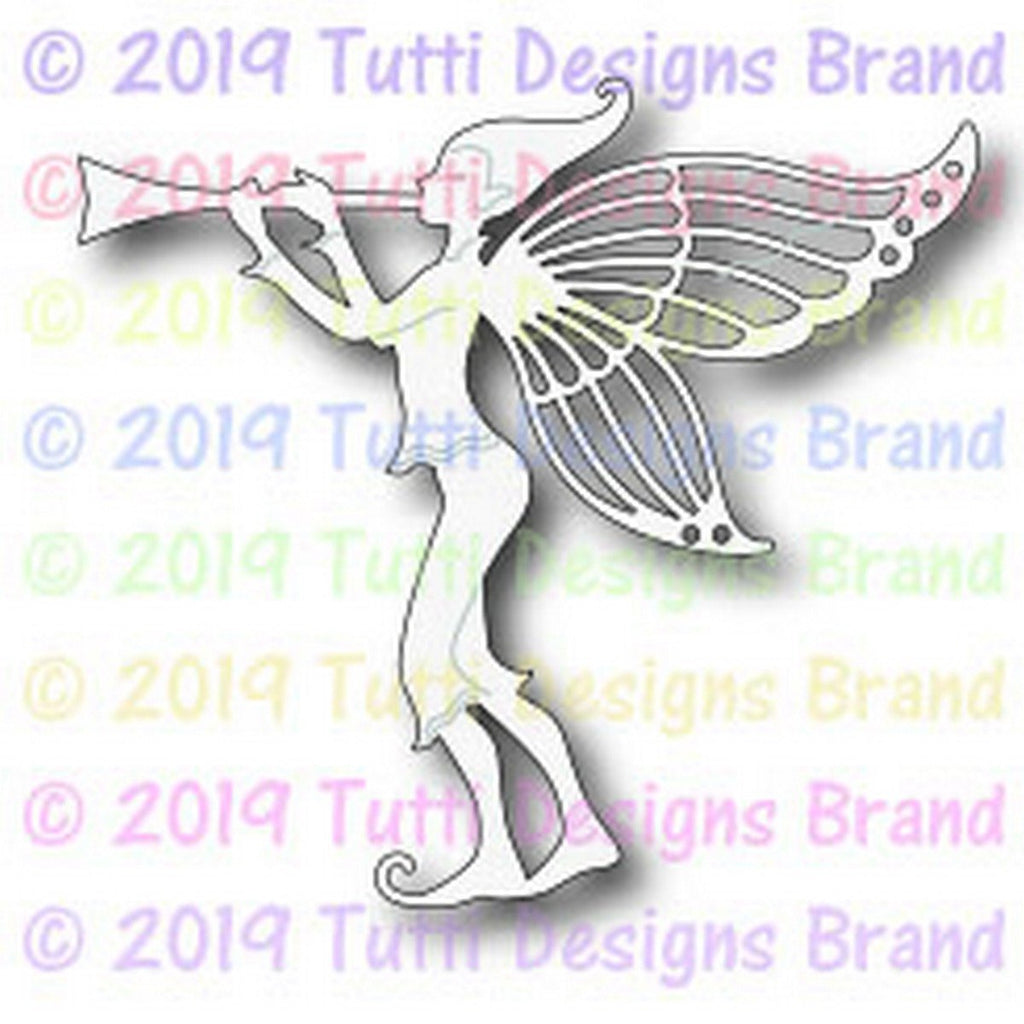 Tutti Designs - Dies - Fairy Trumpeteer - Lavinia World