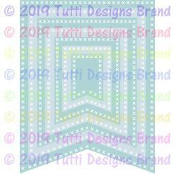 Tutti Designs Dies - Cross Stitch Banners - Lavinia World