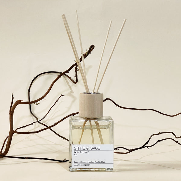 Sittie & Sage White Tea No. 7 Reed Diffuser