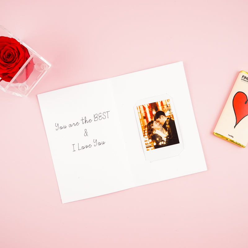 MSB Personalized Valentine's Day Card with Photo
