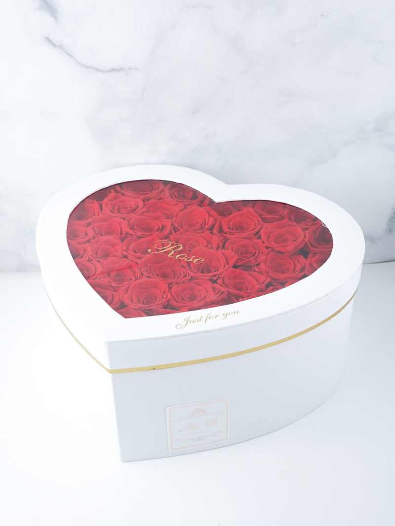The Endless Time Collection - Heart Shape Box