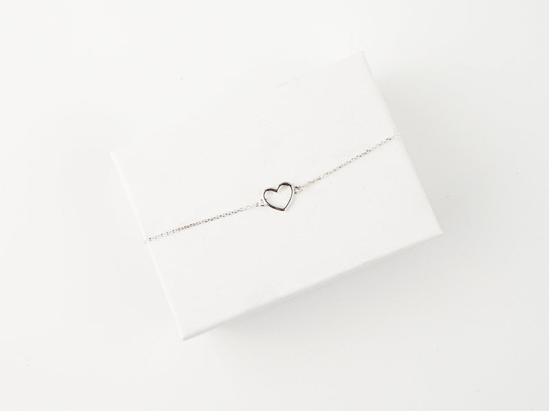 Little Heart Bracelet - Silver