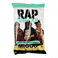 Load image into Gallery viewer, Rap Snacks Sour Cream With A Dab Of Ranch