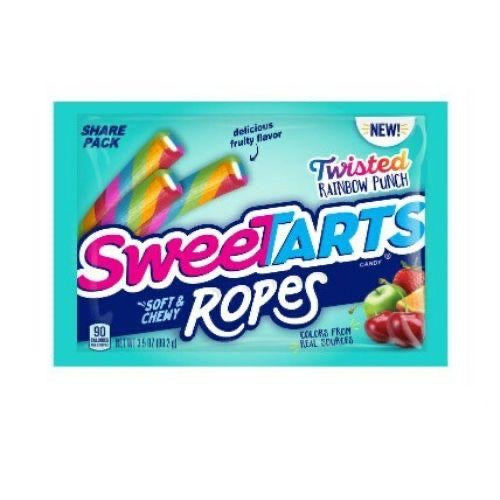 SweeTarts Twisted Rainbow Punch Ropes