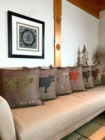 Load image into Gallery viewer, Handwoven Cushions - Oh La Vache Boutique!