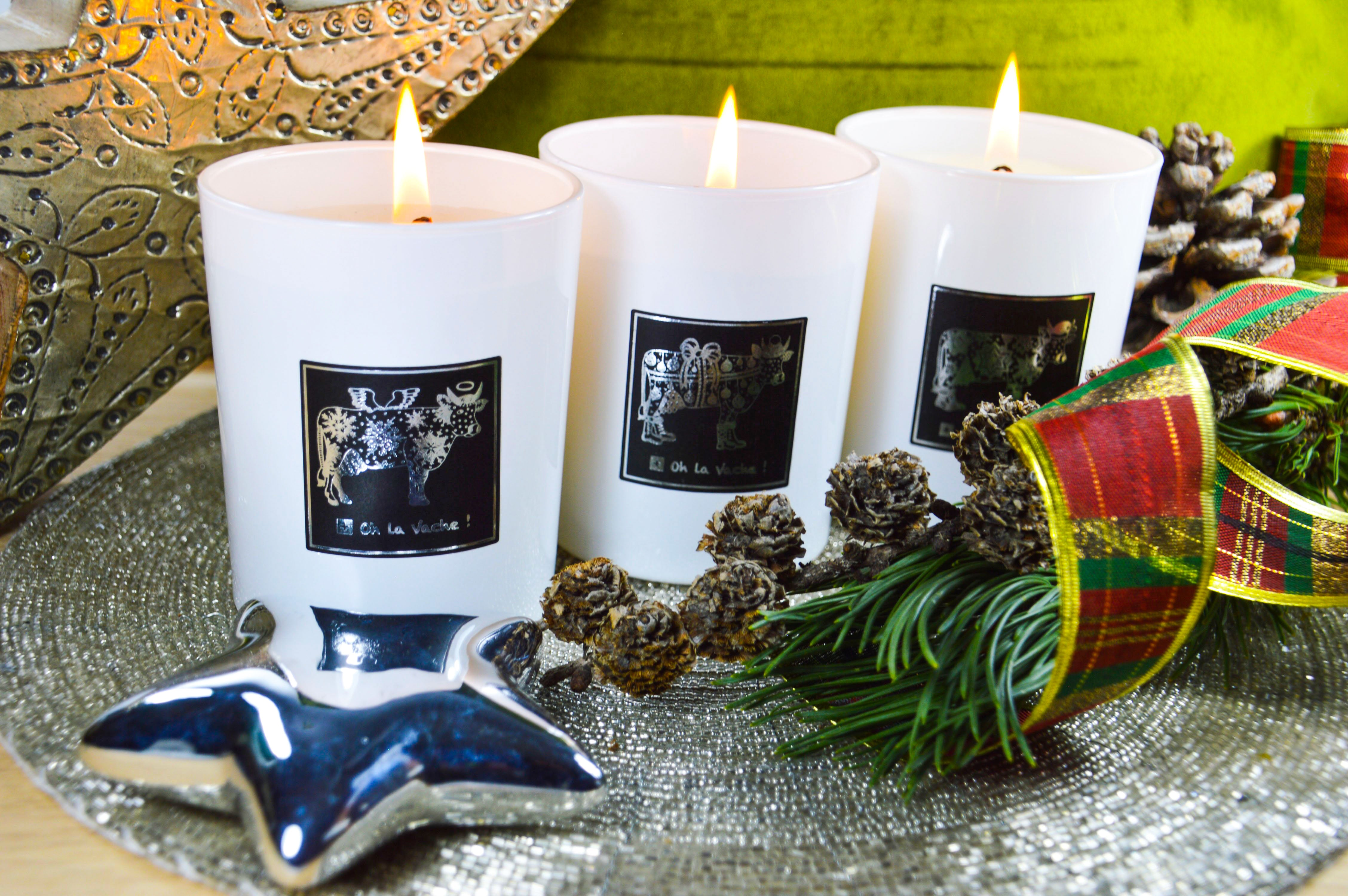 Christmas Candle : Father Christmas -Winter Spices - Oh La Vache Boutique!