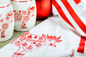 Christmas Mugs - Oh La Vache Boutique!