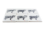 Load image into Gallery viewer, Coaster Set - Oh La Vache Boutique!