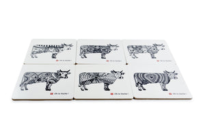 Coaster Set - Oh La Vache Boutique!