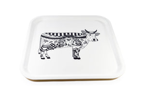 Square Serving Tray - Oh La Vache Boutique!