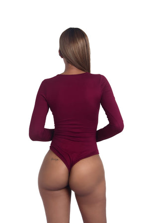 Zip Up Bodysuit
