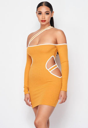 Hip Open Dress