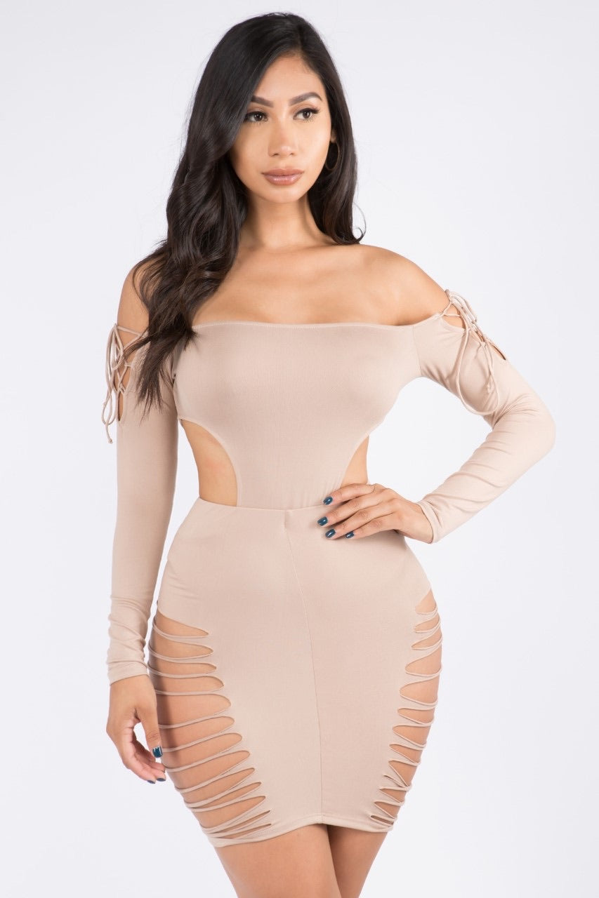 Bodysuit And Skirt Set