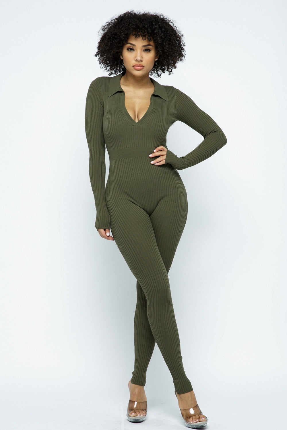 Lslv Collar Jumpsuit