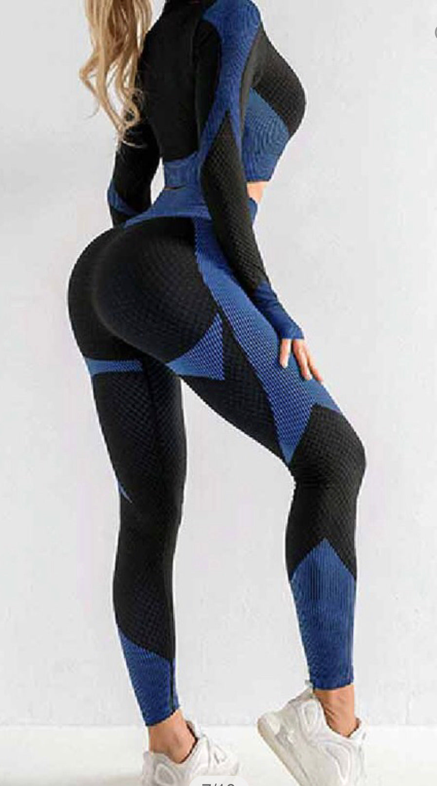 Long Sleeve Seamless Two Piece Set