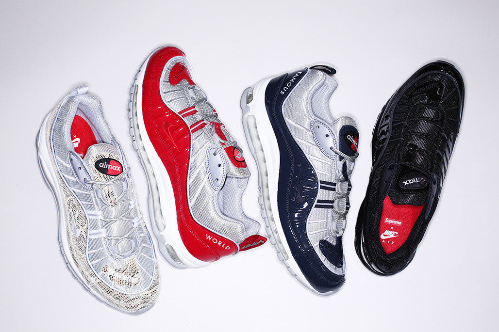 Supreme x Air Max 98 Early Links