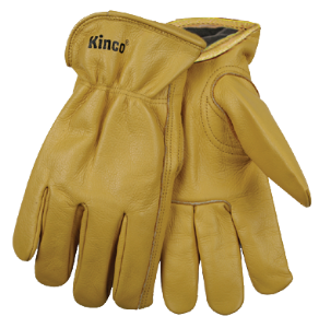KINCO 98RL LINED COWHIDE DRIVER GLOVE