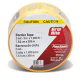 "GRIP RITE 3"" CAUTION TAPE"