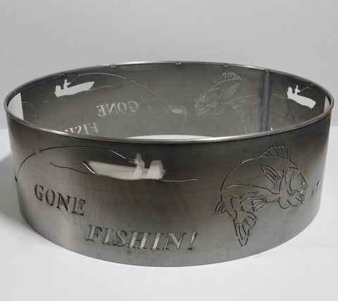 Gone Fishing Fire Ring