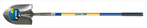 JACKSON FIBERGLASS LONG HANDLE ROUND POINT SHOVEL