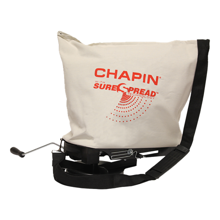 CHAPIN 25 POUND PROFESSIONAL SURESPREAD BAG SEEDER