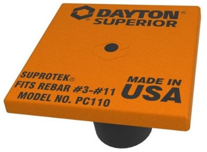 DAYTON SUPROTEK PC110 STEEL PLATED REBAR CAPS