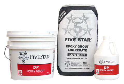 Five Star® DP Epoxy Grout