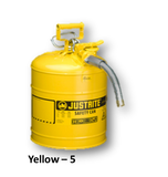 JUSTRITE TYPE II ACCUFLOW STEEL SAFETY CAN