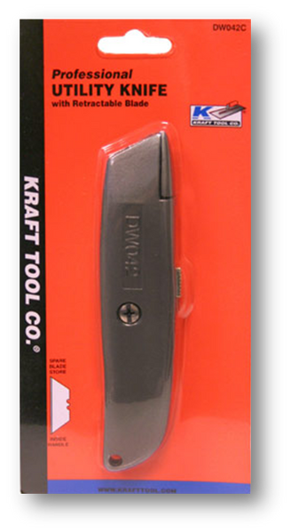 KRAFT UTILITY KNIFE RETRACTABLE