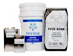 Five Star® Rapid Epoxy Grout