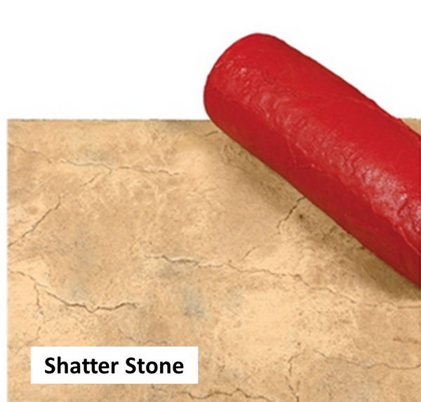SHATTER STONE STENCIL SLEEVE