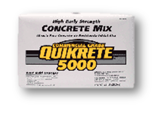 TCC QUIKRETE 5000 CONCRETE MIX