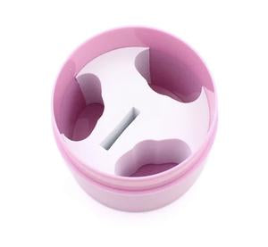 Pink Glue Container