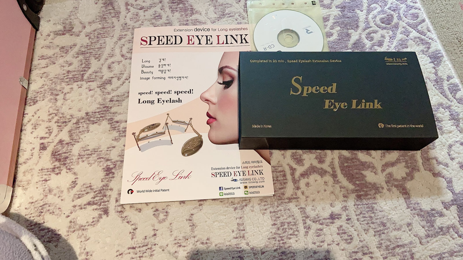 Speed eye link ( Speedy eyelashes extension tool)