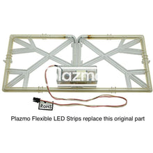 Dual Led Strips For Replacing Ccfl In Aristocrat Viridian Glass Led Assembly