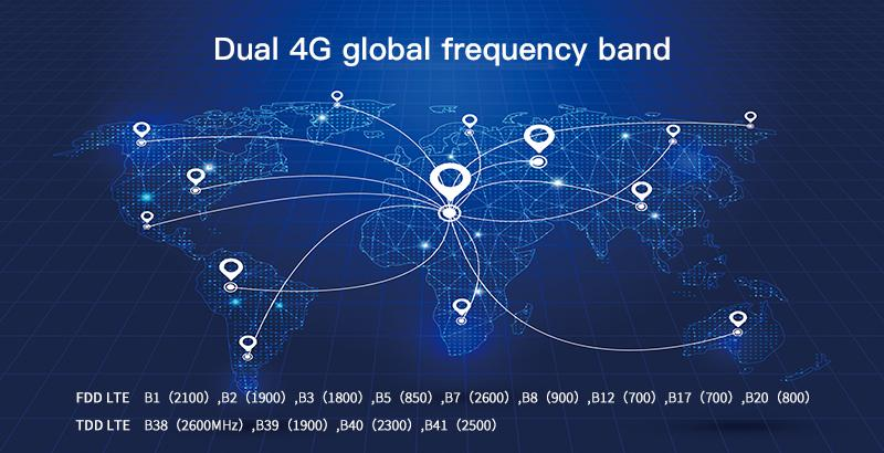 supports 4G networks of TDD LTE and FDD LTE