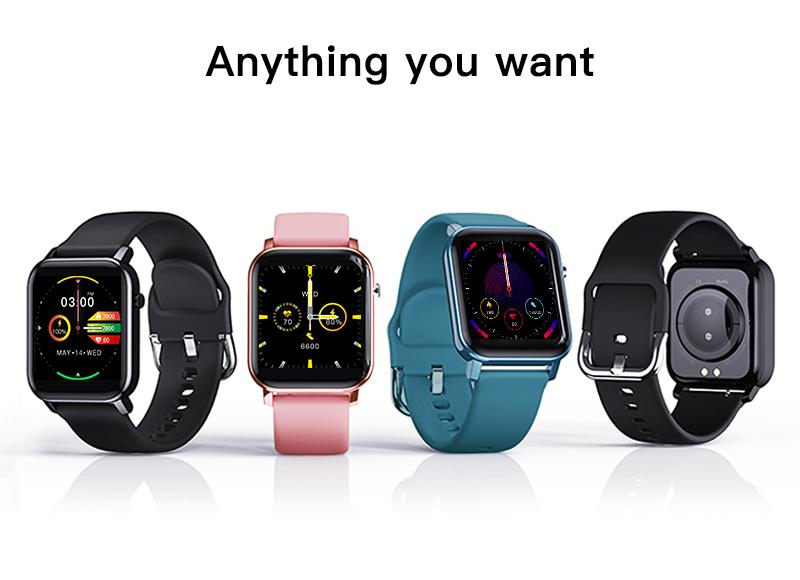 vibrant color and stylish design smartwatch