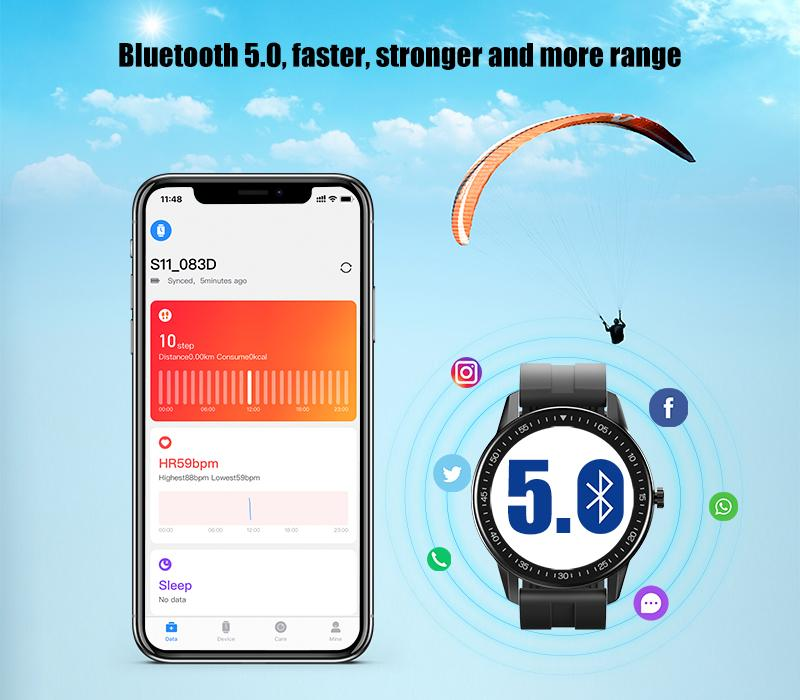 Bluetooth 5.0 has four times the range