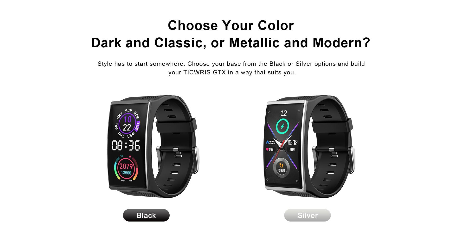 two colors options