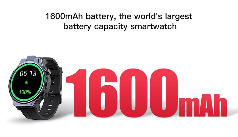 the world's largest battery capacity smartwatch