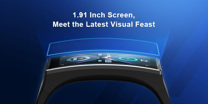 GTX Opts for 1.91 inch large display
